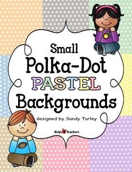 Backgrounds: Small Polka-Dot PASTELS