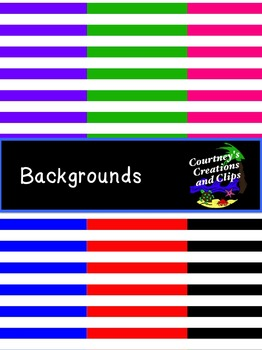 Backgrounds {Stripes} for Personal and Commercial Use- Freebie