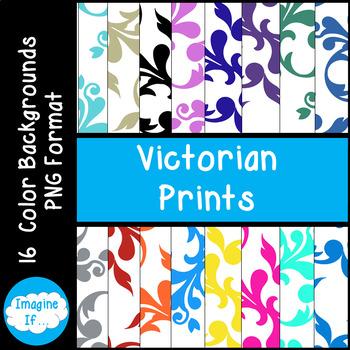 Backgrounds-Victorian Prints