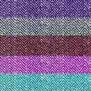 Chevron Backgrounds in Woven Fabric Texture in14 Colors