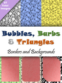 Backgrounds and Borders - Bubbles, Barbs & Triangles - 97