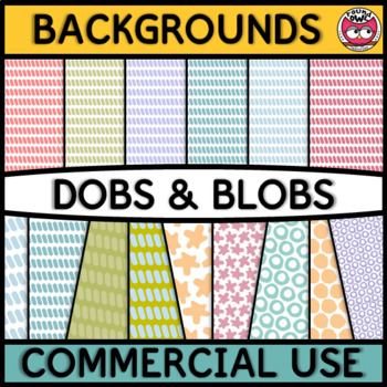Backgrounds and Frames - Dobs and Blobs