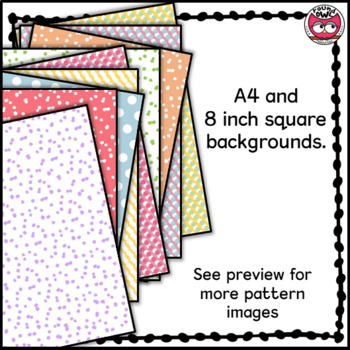 Backgrounds and Frames - Dots and Spots