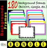Backgrounds borders - Assorted frames in multiple colors f