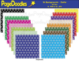 Backgrounds, Dottie, for TPT Sellers - High Quality Vector