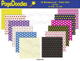 Backgrounds, Polka Dots, for TPT Sellers - High Quality Ve