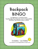 Backpack BINGO