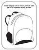 Backpack BINGO