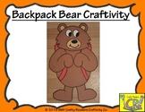 Backpack Bear Craftivity