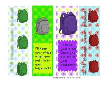 Backpack Books