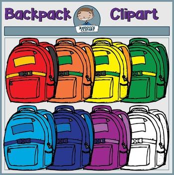 {Freebie} Backpack Clipart