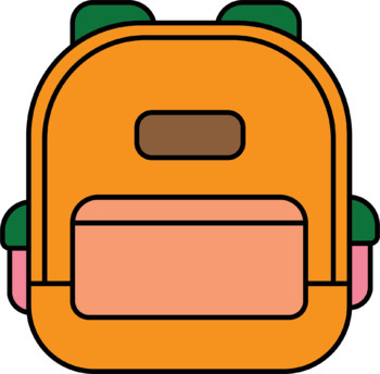 Backpack Clipart By Rhi S Classroom Teachers Pay Teachers Pin the clipart you like. backpack clipart