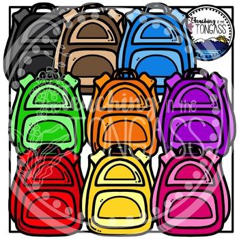 Backpack Clipart Bundle