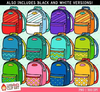 Backpack Clipart Freebie