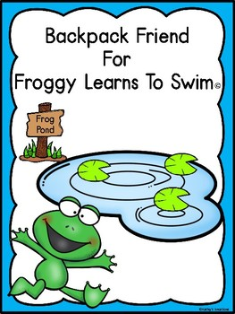 Backpack Friend For Froggy Learns To Swim