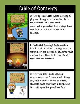 Backpack Jack IS BACK! -- STEM Adventures MEGA Pack -- 9 Complete Lessons!