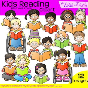 Backpack Kids Reading Children Clipart Clip Art Reading Kids Multiracial