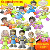 Backpack Kids Superheros Clipart Kids Super Heros Clip Art Superhero Kids