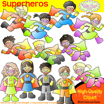 Backpack Kids Superheros Clipart Kids Super Heros Clip Art Superhero Kids