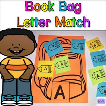 Backpack Letter Match