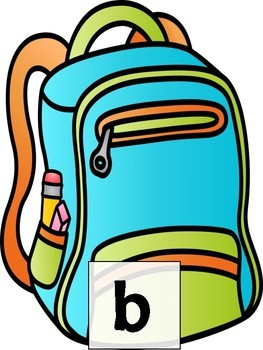 Backpack Letter Matching: Lower Case