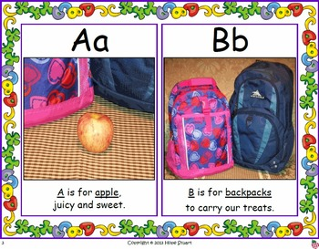 An ABC Story: Backpack Snack Attack Keeps Our Bodies on a Healthy Track!
