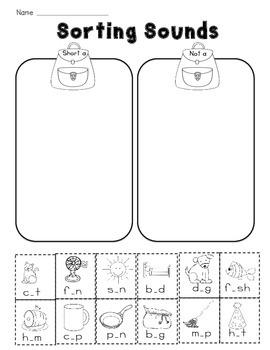 Backpack Sort: Identifying short a