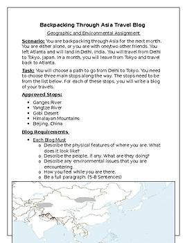 Backpacking Through Asia Blog