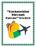 Backpacking Through Europe: Research Project