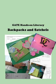 Backpacks and Satchels with Metaphors - GATE Hands-on Literacy