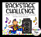Backstage Challenge- Rockstar Themed Math