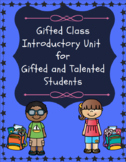 Back to School Gifted and Talented (Introduction to Gifted Class)