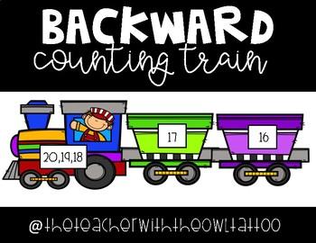 Backward Counting Train