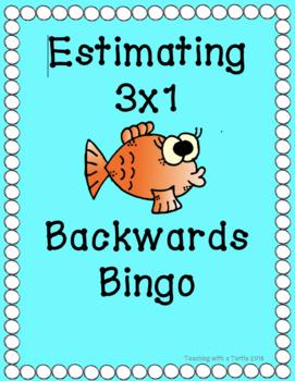 Backwards Bingo Estimating 3x1