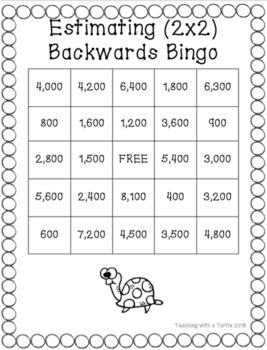 Backwards Bingo Rounding