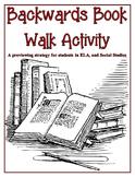 Backwards Book Walk Activity