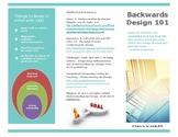 Backwards Design 101 Brochure