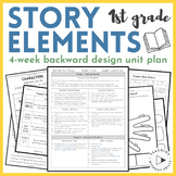 First Grade Reader's Workshop Backwards Design Unit Plan |Story Elements|