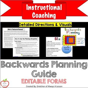 Backwards Planning Visuals and Guide