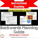 Instructional Coaching: Backwards Planning Visuals and Guide