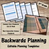 Backwards Planning for 3rd Grade Teachers