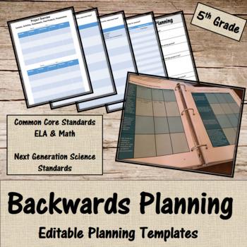 Backwards Planning for 5th Grade Teachers