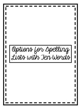 Backwards Words Spelling Practice