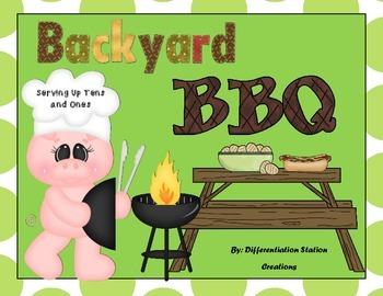 Backyard BBQ: Matching Numerals to Base Tens Blocks, Cente