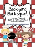 Backyard Barbeque: ELAR & Math Activities