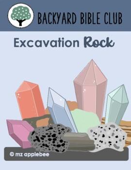 Backyard Bible Club: Excavation Rock