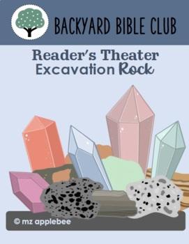 Backyard Bible Club: Excavation Rock BUNDLE