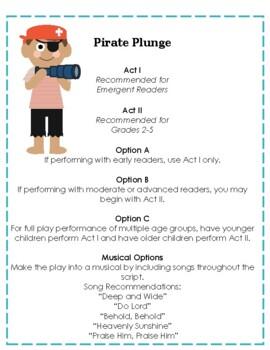 Backyard Bible Reader's Theater: Pirate Plunge