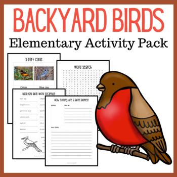 Backyard Birds K-5 Unit Study