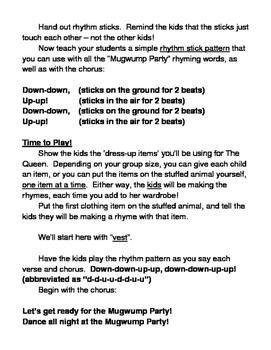 """""""Mugwump Party"""" Group Game - Big Fun with Rhythm Sticks!"""